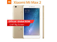 New Xiaomi Mi Max 2 6.44'' FHD IPS Snapdragon 625 4GB+64GB Octa Core 12.0MP Smartphone Unlocked GPS