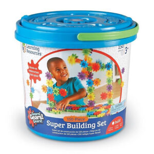 NEW: Learning Resources Gears! Gears! Gears! Super Building Set