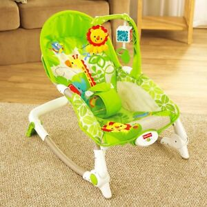 Chaise vibrante évolutive Fisher Price