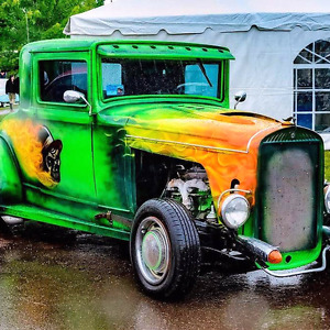 1930Essex 3 Window Coupe.Jack The Ripper Theme.