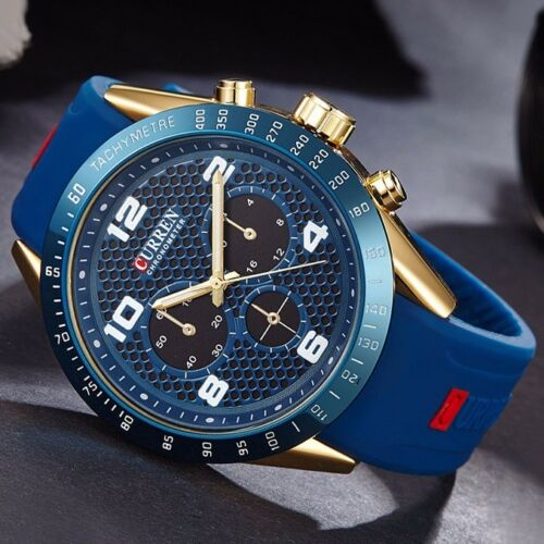 $12.99 - Curren Luxury Watch Men's Sports Military Army Fashion Quartz Analog Wrist Watch