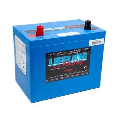 - LIFELINE RACING BATTERY AGM 2-POST 16V CCA 1050 #REA1640TB 10.23