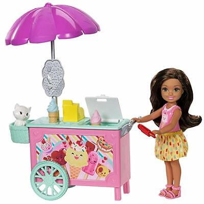 Barbie Chelsea Ice Cream Cart Doll and Play Set