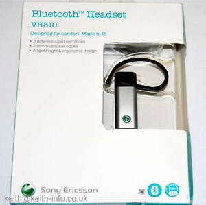 SONY ERICSSON VH310 VH-310 UNIVERSAL BLUETOOTH HEADSET NEW UK Stock