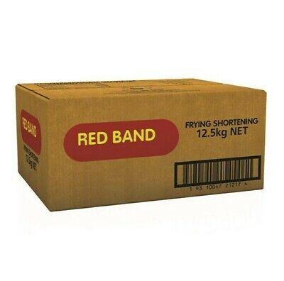 Red Band Frying Shortening 12.5kg   Fry Shortening, Tallow Oil