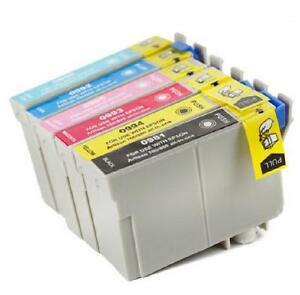 Epson T098-99 BK-C-M-Y-LC-LM New Compatible Ink Cartridges Combo Pack