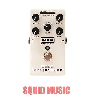 MXR Dunlop M87 Bass Compressor Bass Effects Pedal True bypass M-87 ( OPEN BOX )