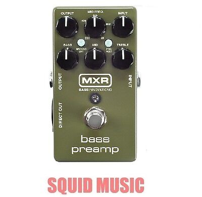 MXR Dunlop M81 Bass Preamp Direct Out 3-band EQ 3 Band EQ M-81 ( OR BEST OFFER