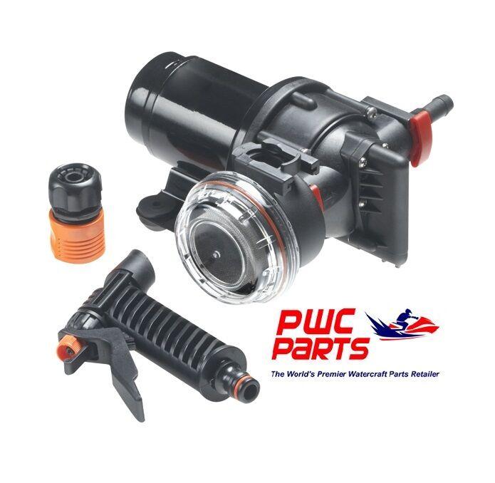 SEACHOICE Wash Down System 17851 Max 2.9 GPM @ psi 41 w/ Spray Nozzle & Strainer