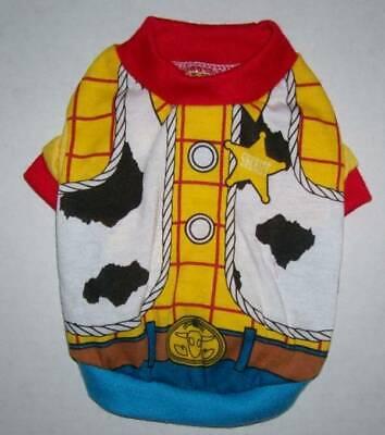 Disney Toy Story Woody Dog Shirt Medium Halloween costume