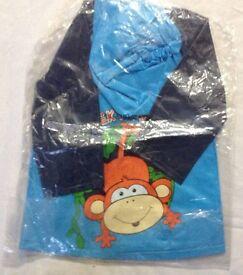 Brand New Kids Rain Coat