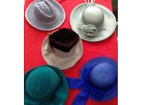 Selection of women's hats