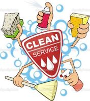 Cleaner Available! Cheap Rates!