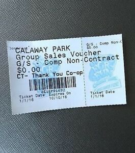 Calaway Park Admission Pass for $25