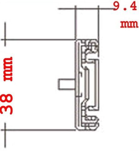 KRI 20-inch Sliding Rails for Most 1U/2U/3U/4U rackmount Chassis