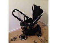 Oyster Pram and matching Car Seat
