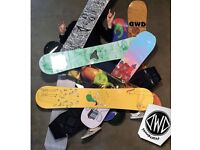 Snowboards wanted