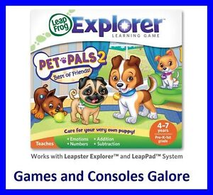 NEW! Leap Pad, LeapPad 2 and Leapster Explorer Pet Pals 2 Game  Leapfrog