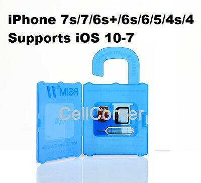 R-SIM 11 UNLOCKER APPLE iPHONE 5 5S 6S 7S PLUS iOS 10 AT&T FIDO ROGERS VODAFONE