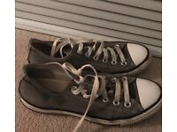 Grey converse uk size 5 women converse