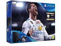 BRAND NEW PlayStation4 500GB With Fifa18