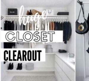 CLOSET CLEAR OUT! J Crew, Nike, Steve Madden & More!