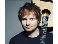 2 x Ed Sheeran tickets 3rd May 02