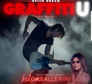 Keith Urban - 4 lawn tickets for Sat June 30 $45 each