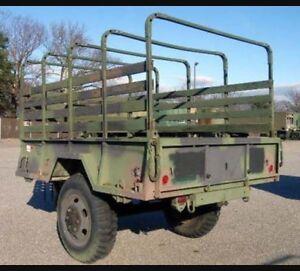 M 103 1.5 Ton Military Trailer