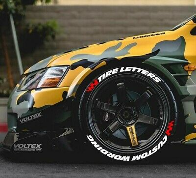TIRE LETTERS 1.25