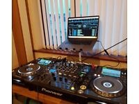 CDJ Nexus 2000 x2 and DJM 900 Nexus mixer