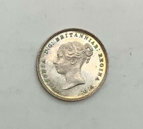Great Britain 1880 0/0 Maundy 4 Pence Victoria Very Pleasing Lustrous Coin