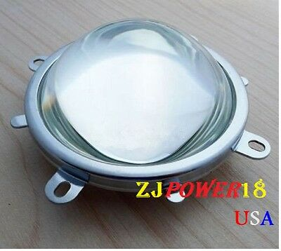 77mm Lens 82mm Reflector Collimator Base Fixed Bracket For 20w-100w Led