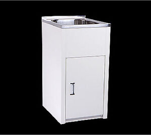 New Stainless Steel Laundry Sink Tub Cabinet compact 380mm x 550mm