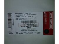 !BARGAIN! £50 OFF 1 seated ticket for sale. Jay-Z and Beyonce OTR II concert