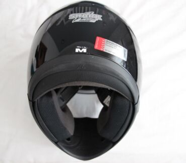 Shark S560 Black Motorcycle Helmet (Medium) - Near new Castle Hill The Hills District Preview