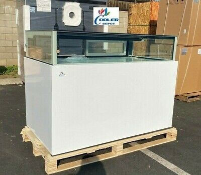 New 59 Luxury Bakery Refrigerator Cooler Case Display Trendy Boutique Nsf Etl