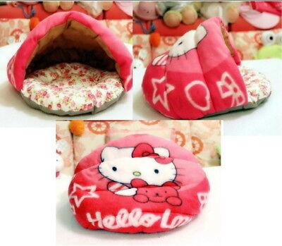 Katzen & Hunde Schlafsack Bett Höhle Schlafplatz Sofa Hello Kitty Design Kissen ()