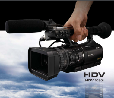 excellent conidition sony-hdv-1080i-mini-dv HDV HVR-V1E/V1P