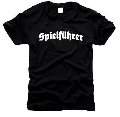 Spielführer - Kapitän - Herren-T-Shirt, Gr. S bis XXL