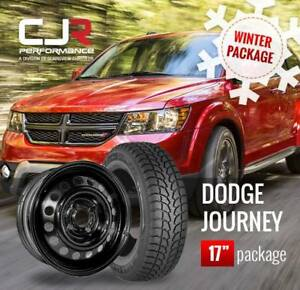 DODGE JOURNEY WINTER PACKAGE WITH DUNLOP WINTER TIRES