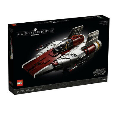 LEGO A-Wing Starfighter UCS Star Wars 75275 2020 Brand New Set!  Sealed!