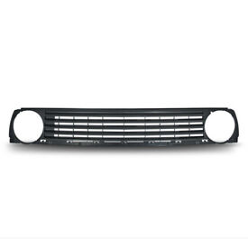 Badgeless slatted car grill compatible with VW Golf mk 2 1984-1991