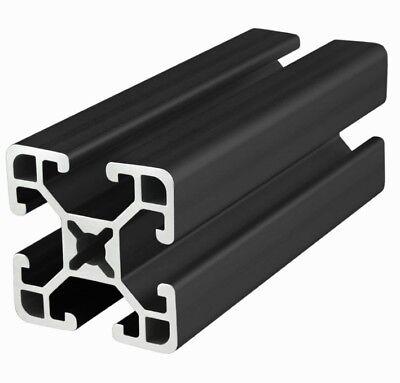 8020 Inc 15 Series T-slot Aluminum Extrusion 1515-uls-black X 48 Long N
