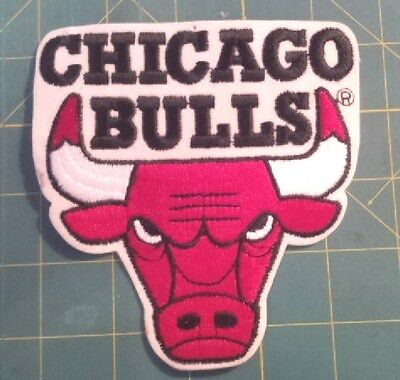 CHICAGO BULLS 4 X4 INCH PATCH