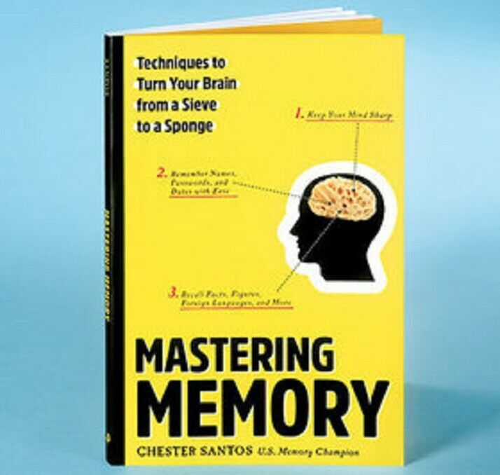 Mastering Memory: Techniques to Turn Your Brain from a Sieve to a Sponge by Ches Books