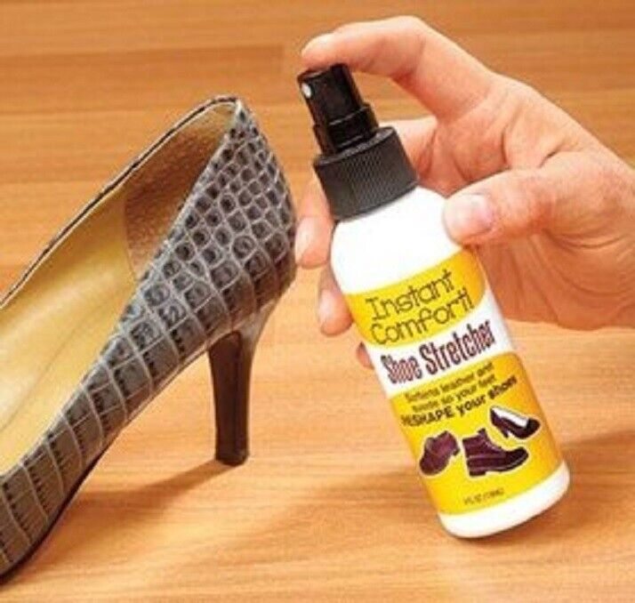 Instant Comfort Liquid Shoe Stretcher Spray. Shoe stretch spray for leather NEW Clothing & Shoe Care