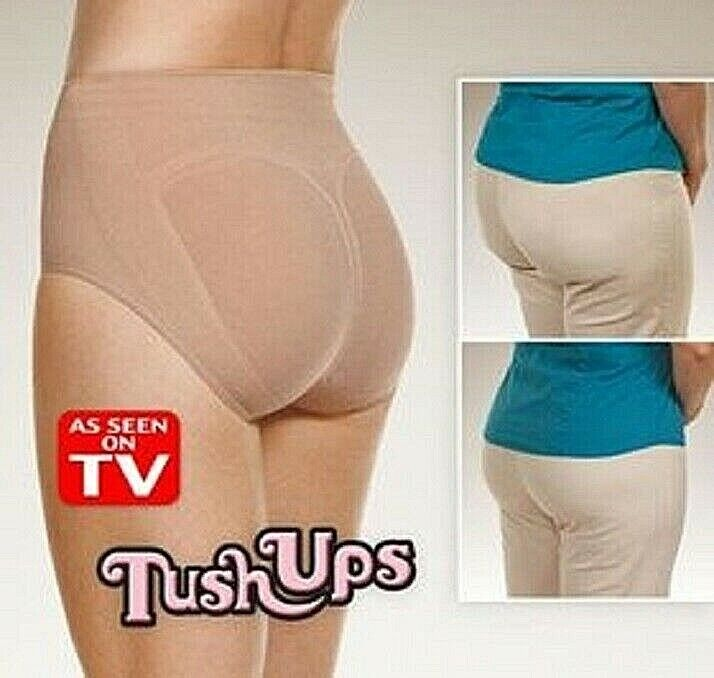 TUSH UPS Instantly Lifts Shapes and Contours Seamless Comfort No Panty Line XL Clothing, Shoes & Accessories