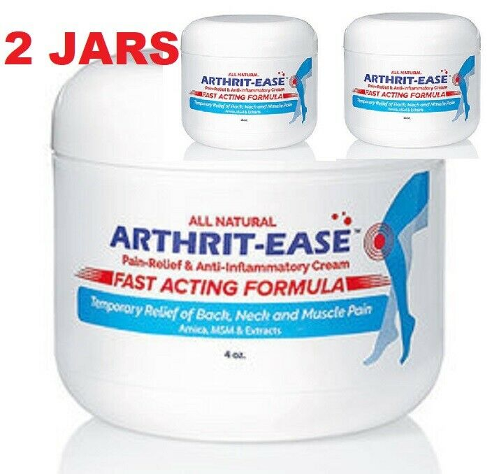 X2 Arthrit Ease Arthritis Cream Pain Relief Anti Inflammatory Fast Acting 2 JARS Health & Beauty