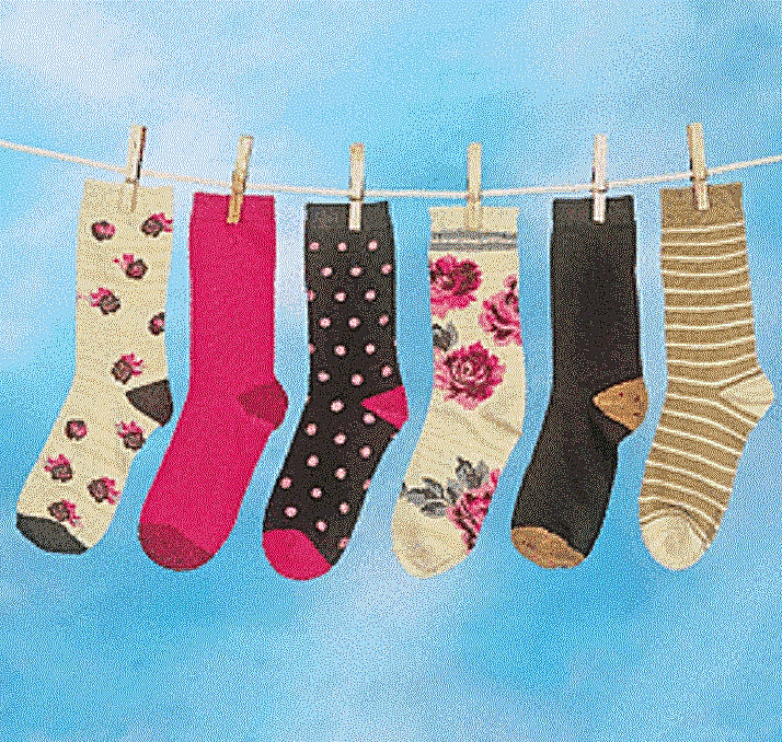 X6 Sock Pair Crew Socks Comfy Stylish SIX PAIR of colorful Fashion Socks Women Clothing, Shoes & Accessories